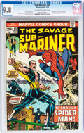 Bronze Age (1970-1979):Superhero, The Sub-Mariner #69 (Marvel, 1974) CGC NM/MT 9.8 Off-white to white pages....