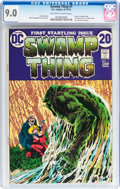 Bronze Age (1970-1979):Horror, Swamp Thing #1 (DC, 1972) CGC VF/NM 9.0 Off-white to whitepages....