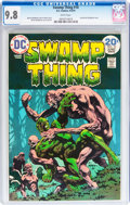 Bronze Age (1970-1979):Horror, Swamp Thing #10 (DC, 1974) CGC NM/MT 9.8 White pages....