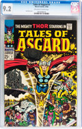 Silver Age (1956-1969):Superhero, Tales of Asgard #1 (Marvel, 1968) CGC NM- 9.2 Off-white to whitepages....