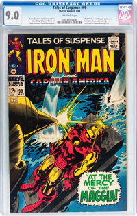 Tales of Suspense #99 (Marvel, 1968) CGC VF/NM 9.0 Off-white pages