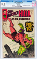 Silver Age (1956-1969):Superhero, Tales to Astonish #87 (Marvel, 1967) CGC NM 9.4 White pages....