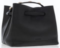 Luxury Accessories:Bags, Bally Black Leather Tote Bag with Silver Hardware. ...