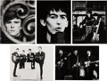 Music Memorabilia:Photos, Beatles Group of 1961 Hamburg Photos by Jurgen Vollmer with SignedNote from the Photographer. ... (Total: 11 Items)