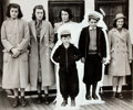 Books:Americana & American History, [American Heritage]. Reproduction Photograph of Members of TheKennedy Family. Photo dated 1938, taken aboard a ship traveli...
