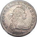 Early Dollars, 1799 $1 7x6 Stars -- Improperly Cleaned -- NGC Details. AU. B-6,BB-162, R.4 ...