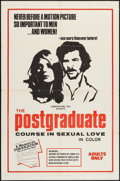"Movie Posters:Adult, The Postgraduate Course in Sexual Love & Other Lot (Kariofilm, 1970). One Sheets (2) (27"" X 41""). Adult.. ... (Total: 2 Items)"