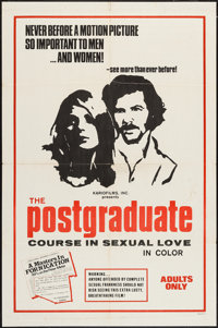 """The Postgraduate Course in Sexual Love & Other Lot (Kariofilm, 1970). One Sheets (2) (27"""" X 41""""). Adul..."""