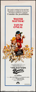 "Movie Posters:Sports, The Bad News Bears (Paramount, 1976). Insert (14"" X 36""). Sports.. ..."