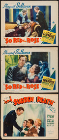 "Movie Posters:Drama, So Red the Rose & Other Lot (Paramount, 1935). Lobby Cards (3) (11"" X 14""). Drama.. ... (Total: 3 Items)"