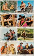 "Movie Posters:Western, The War Wagon (Universal, 1967). Color Photo Set of 8 (8"" X 10"") & British Front of House Color Photos (5) (8"" X 10""). Weste... (Total: 13 Items)"