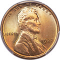 Lincoln Cents, 1927 1C MS67+ Red PCGS....