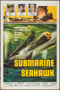 "Movie Posters:War, Submarine Seahawk & Other Lot (American International, 1958).One Sheets (2) (27"" X 41""). War.. ... (Total: 2 Items)"