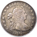 Early Dimes, 1801 10C VF25 PCGS. JR-1, R.4....