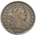 Early Dimes, 1802 10C VF20 ANACS. JR-4, R.4....