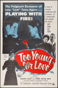 "Movie Posters:Foreign, Too Young for Love & Others Lot (IFE, 1955). One Sheets (4) (27"" X 41""). Foreign.. ... (Total: 4 Items)"