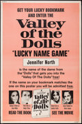 "Movie Posters:Exploitation, Valley of the Dolls (20th Century Fox, 1967). Special ContestPoster (40"" X 60""). Exploitation.. ..."