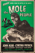 "Movie Posters:Science Fiction, The Mole People (Universal International, 1956). Poster (40"" X60""). Science Fiction.. ..."