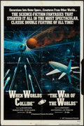 """Movie Posters:Science Fiction, When Worlds Collide/The War of the Worlds Combo & Other Lot (Paramount, 1977). One Sheets (2) (27"""" X 41""""). Science Fiction.... (Total: 2 Items)"""