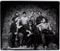 Music Memorabilia:Photos, Bob Dylan and Grateful Dead Photo by Herb Greene (1987)....