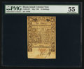 Colonial Notes:Rhode Island, Rhode Island May 1786 10s PMG About Uncirculated 55.. ...