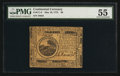Colonial Notes:Continental Congress Issues, Continental Currency May 10, 1775 $6 PMG About Uncirculated 55.....