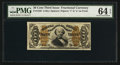 Fractional Currency:Third Issue, Fr. 1336 50¢ Third Issue Spinner PMG Choice Uncirculated 64 EPQ.....