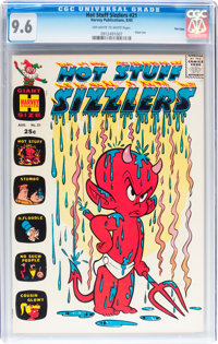Hot Stuff Sizzlers #21 File Copy (Harvey, 1965) CGC NM+ 9.6 Off-white to white pages