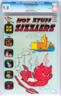 Silver Age (1956-1969):Humor, Hot Stuff Sizzlers #22 File Copy (Harvey, 1965) CGC NM/MT 9.8 Off-white to white pages....