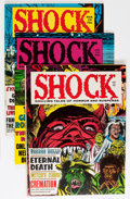 Magazines:Horror, Shock Group (Stanley Publications, 1969-71) Condition: Average FN/VF.... (Total: 8 Comic Books)