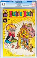 Silver Age (1956-1969):Humor, Richie Rich #65 (Harvey, 1968) CGC NM+ 9.6 Off-white pages....
