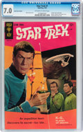 Silver Age (1956-1969):Science Fiction, Star Trek #1 (Gold Key, 1967) CGC FN/VF 7.0 Off-white to white pages....