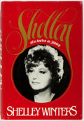 Books:Biography & Memoir, Shelley Winters. SIGNED. Shelley. Also Known as Shirley.William Morrow and Company, Inc., 1980. Book Club editi...