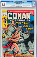 Bronze Age (1970-1979):Adventure, Conan the Barbarian #3 (Marvel, 1971) CGC VF+ 8.5 Off-white to white pages....
