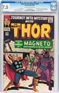 Silver Age (1956-1969):Superhero, Journey Into Mystery #109 (Marvel, 1964) CGC VF- 7.5 Off-white to white pages....
