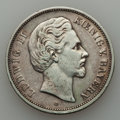 German States:Bavaria, German States: Bavaria. Ludwig II 5 Mark 1876-D,...