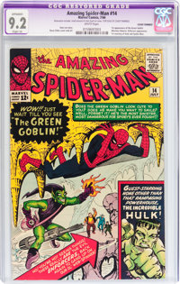 The Amazing Spider-Man #14 (Marvel, 1964) CGC Apparent NM- 9.2 Slight (A) White pages