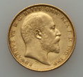 Australia, Australia: Edward VII gold Sovereign 1905-M,...