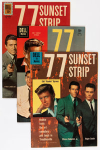 77 Sunset Strip Related Savannah pedigree Group (Dell/Gold Key, 1960-62) Condition: Average VF+.... (Total: 6 Comic Book...