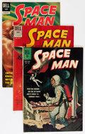 Silver Age (1956-1969):Science Fiction, Space Man Savannah pedigree Group (Dell, 1962-72) Condition:Average VF/NM.... (Total: 10 Comic Books)