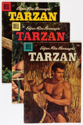 Golden Age (1938-1955):Adventure, Tarzan Savannah pedigree Group (Dell, 1949-62) Condition: Average VG.... (Total: 24 Comic Books)
