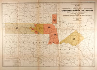 "[Map]. C. C. Royce, cartographer. ""Map Showing the Territory Originally Assigned to the Cherokee ""Nation of&qu..."