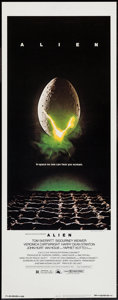 "Movie Posters:Science Fiction, Alien (20th Century Fox, 1979). Insert (14"" X 36""). ScienceFiction.. ..."
