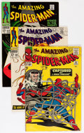 Silver Age (1956-1969):Superhero, The Amazing Spider-Man #25 and 62-70 Group (Marvel, 1965-69) Condition: Average FN+.... (Total: 10 Comic Books)