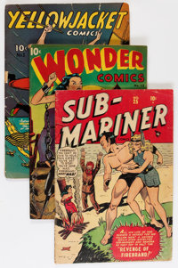Comic Books - Assorted Golden Age Comics Group (Various Publishers, 1944-49).... (Total: 6 Comic Books)