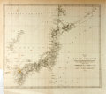 "Books:Maps & Atlases, [Map]. Map of the Japan Islands, Circa 1855. 15.75"" x 13.75"". Compiled by order of Commodore Matthew Perry, copied from von ..."