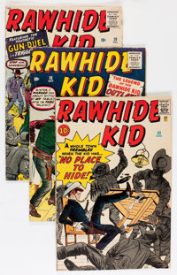 Rawhide Kid #17-32 and 43 Group (Marvel, 1960-64) Condition: Average VG-.... (Total: 17 Comic Books)