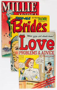 Golden to Silver Age Romance Plus Group (Various Publishers, 1946-68).... (Total: 11 Comic Books)