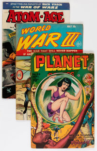 Golden Age Sci-Fi Group (Various Publishers, 1946-59) Condition: Average GD/VG.... (Total: 9 Comic Books)