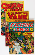 Golden Age (1938-1955):Miscellaneous, Golden Age Alex Schomburg Related Comics Group (Various Publishers, 1942-47).... (Total: 4 Comic Books)